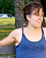 Portrait image of Elizabeth Johnson outdoors