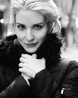 Black and White portrait image of Anja Jovic-Humphrey