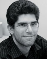 B&W Portrait image of John Nimis