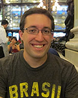 "Portrait image of Matthew Francis Rarey wearing a ""Brasil"" T-Shirt"