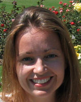 Portrait image of Kathryn Sanchez outdoors in the sun