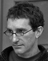 Black and White portrait of Larry Shapiro