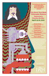 Poster for event The Book that Made Philosophy Modern: the World of Descartes's Treatise on Man