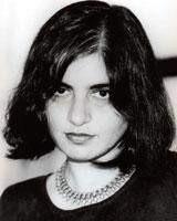 Black and white portrait image of Preeti Chopra