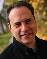 Portrait image of David Goldstein outdoors