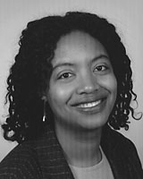 Black and White portrait photography of Cherene Sherrard-Johnson