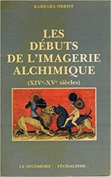 "Cover of Barbara Obrist's book ""Les débuts de l'imagerie alchimique..."""