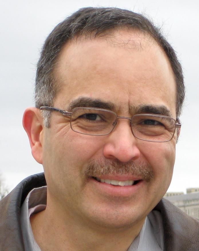 Portrait image of Benjamin Marquez outdoors