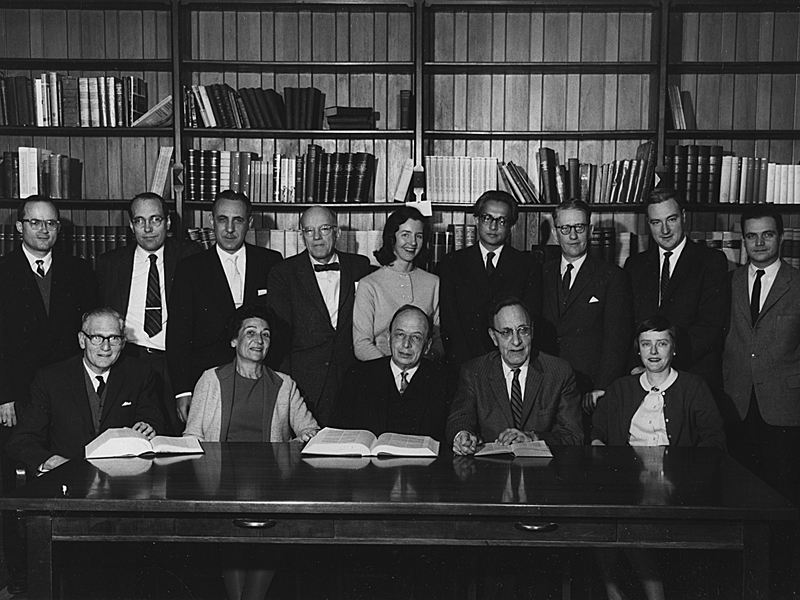 Group of Fellows in 1964