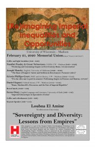 poster for the event listing the title and all the speaker names