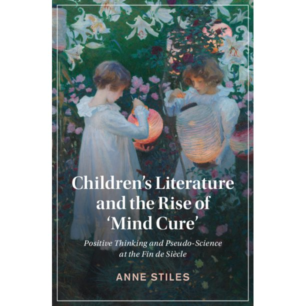 This is the image of the cover of the book. There is a color image of two young girls lighting paper lamps in a garden. They are surrounded by flowers and greenery. The text on the book cover reads